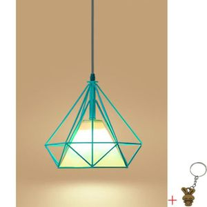 LUSTRE ET SUSPENSION Suspension Cage Forme Diamant Contemporain 25cm 11