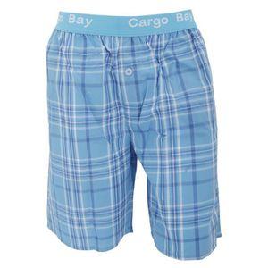 Pyjama short homme achat vente pyjama short homme pas for Pyjama homme carreaux