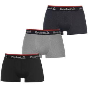 BOXER - SHORTY Reebok Rgrave Boxers 3 Paires Sous-Vêtement Homme