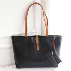 SAC À MAIN Femmes sac shopping en PU sac à bandoulière sac à