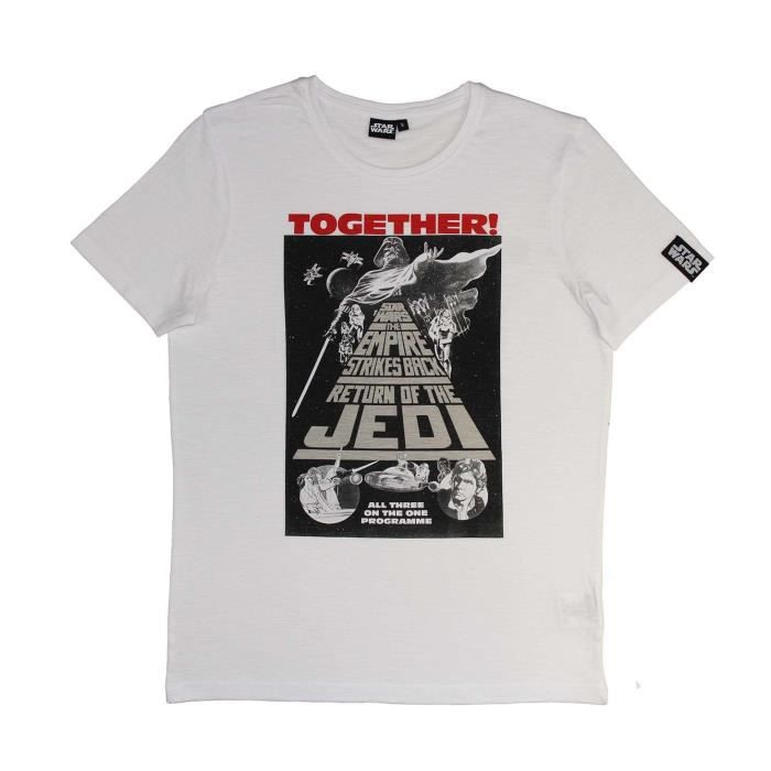 STAR WARS T-shirt Homme 1005626 - 100% coton