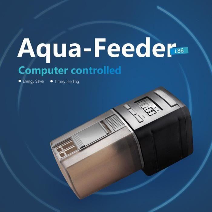 Automatique Nourriture Poisson Minuterie Réservoir Pet Aquarium Numérique Étang @youyoako3332