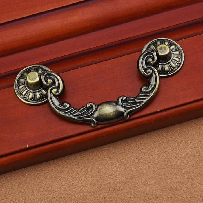poignee porte cuisine vintage finest sharplace lot de pcs coquille en alliage de zinc style. Black Bedroom Furniture Sets. Home Design Ideas