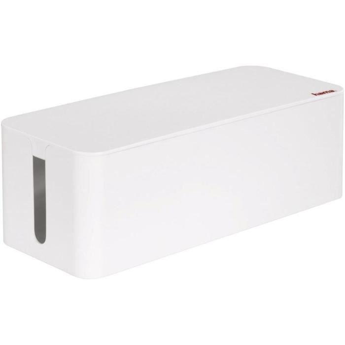 boite cache cable achat vente boite cache cable pas cher cdiscount. Black Bedroom Furniture Sets. Home Design Ideas