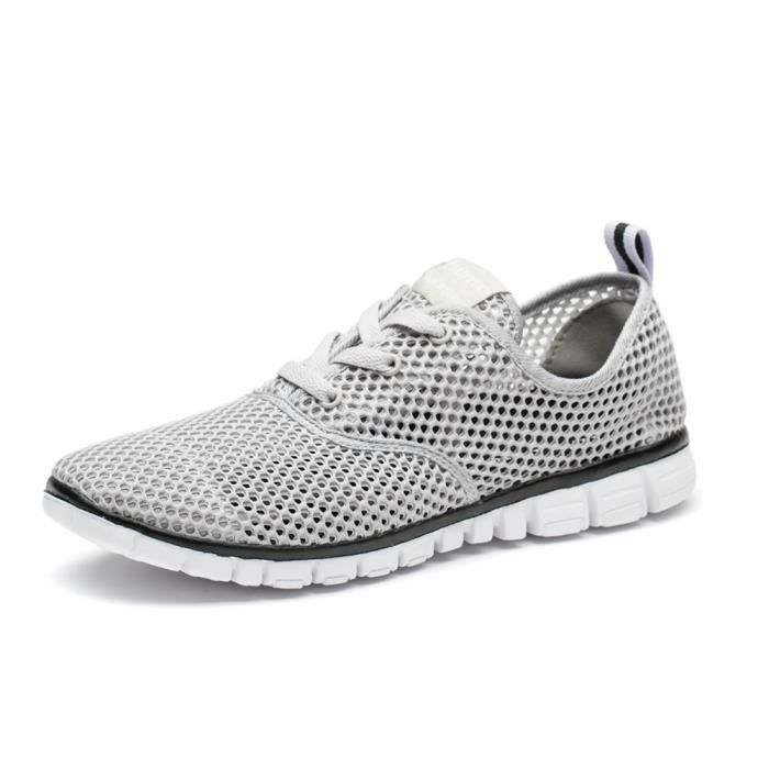 Chaussures homme marque de luxe baskets hommes 2017 casual chaussures homme sport Grande Taille mocassin Confortable Durable