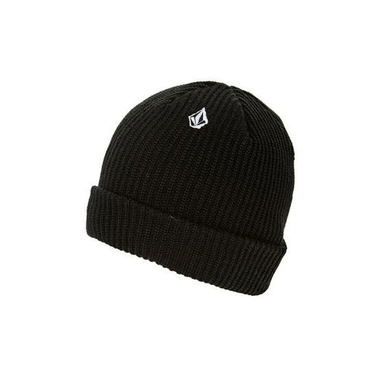 Bonnet Volcom Full Noir Homme Noir - Achat   Vente bonnet - cagoule  8871889540626 - Cdiscount 09cb174cd17