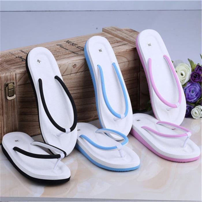 Tongs femme Nouvelle Mode femmes Sandales Confortable Sandale femme De Plein Air Sandales Pour La Plage Plus Taille 35-39