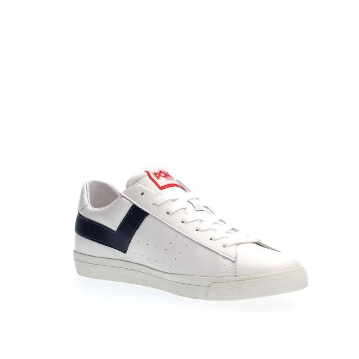 PONY SNEAKERS Homme WHITE NAVY, 43