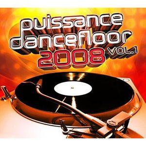 CD COMPILATION PUISSANCE DANCEFLOOR 2008 VOL.1