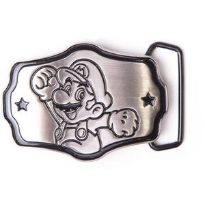 CEINTURE ET BOUCLE Boucle de ceinture métallique Mario: Mario Bros
