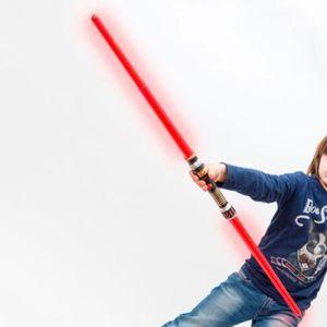 BÂTON - ÉPÉE - BAGUETTE Double sabre laser sabre lumineux et sonore * Mati