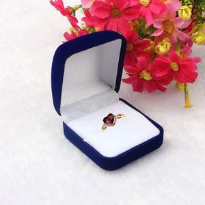 BOITE A BIJOUX Frankmall@Mode de stockage Boîte à bijoux bague Co