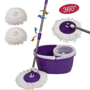 SERPILLIÈRE s5678 À 360 Remplacement ° propre Microfibre Mop T