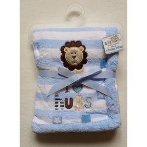 Personnalisé Bébé Teddy Bear Couvre-lit Plaid//Tag Couverture Moelleux Doux cadeau de jouet
