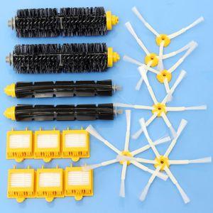 PIÈCE ENTRETIEN SOL  16 Pièces Filtres Brosse Pack Kit Aspirateur Acces