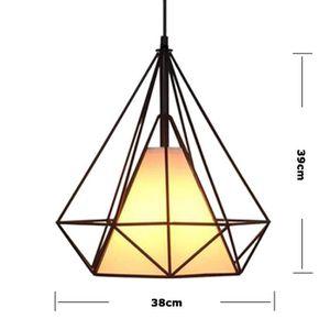 LUSTRE ET SUSPENSION Suspension luminaire vintage DIAMANT Ø38cmx40cm  f