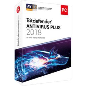 BUREAUTIQUE À TÉLÉCHARGER Logiciel Bitdefender Antivirus Plus 2018 - 3 PC -