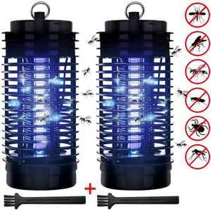 RÉPULSIF NUISIBLES MAISON 2x Piège anti-moustique - Lampe UV - Protection an