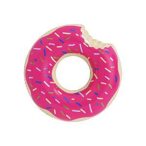 BOUÉE - BRASSARD Bouée gonflable Adulte - Donut Rose - Ø 119 cm