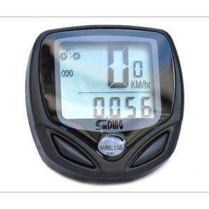 COMPTEUR POUR CYCLE Bicyclette Computer tachymètre Odomètre sans fil L