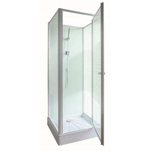 CABINE DE DOUCHE GELCO Cabine de douche intégrale Prem's 80x80 cm
