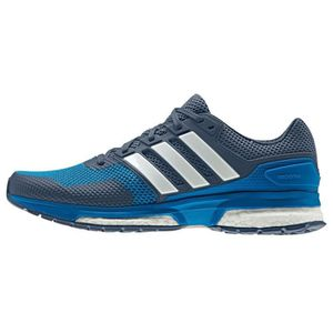 CHAUSSURES DE RUNNING ADIDAS Baskets Response Boost - Homme - Gris / Ble