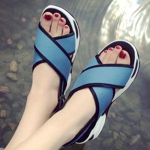 SANDALE - NU-PIEDS Chaussures Femmes Mode simple tendance Mignon Sand