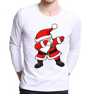 T-SHIRT Hommes T-Shirt chemises plus la taille de Noël d'i