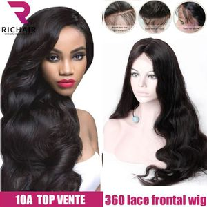 Perruque bresilienne 360 lace frontal wige