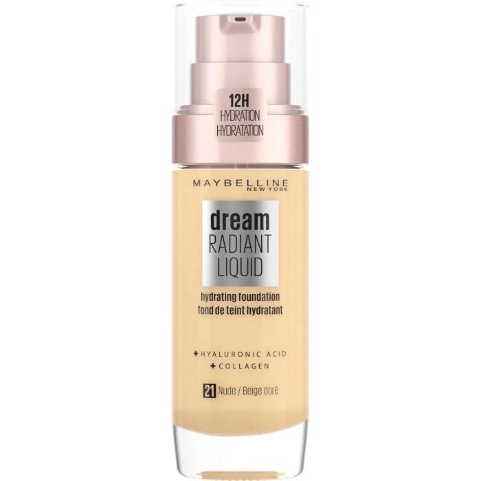 Maybelline New York Fond De Teint Perfecteur Dream Satin Liquid Beige Dore 30 ml