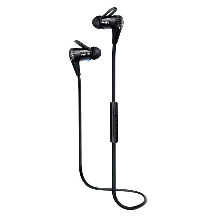 PHILIPS SHB5800BK Ecouteurs intra-auriculaires Bluetooth NFC