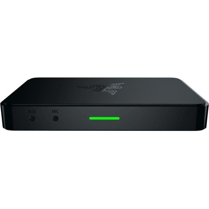 RAZER Carte d'acquisition de jeu Gamer Ripsaw - USB 3.0 - HDMI - Multi-câbles AV - HD - 130 x 86 x 17 mm - Noir et vert