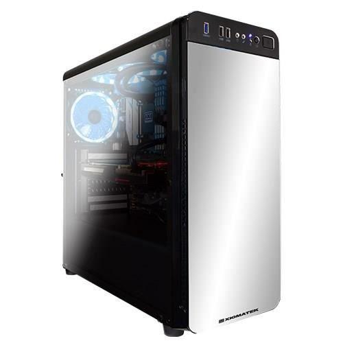 XIGMATEK Boitier PC Moyen Tour REFRACT S1 Noir