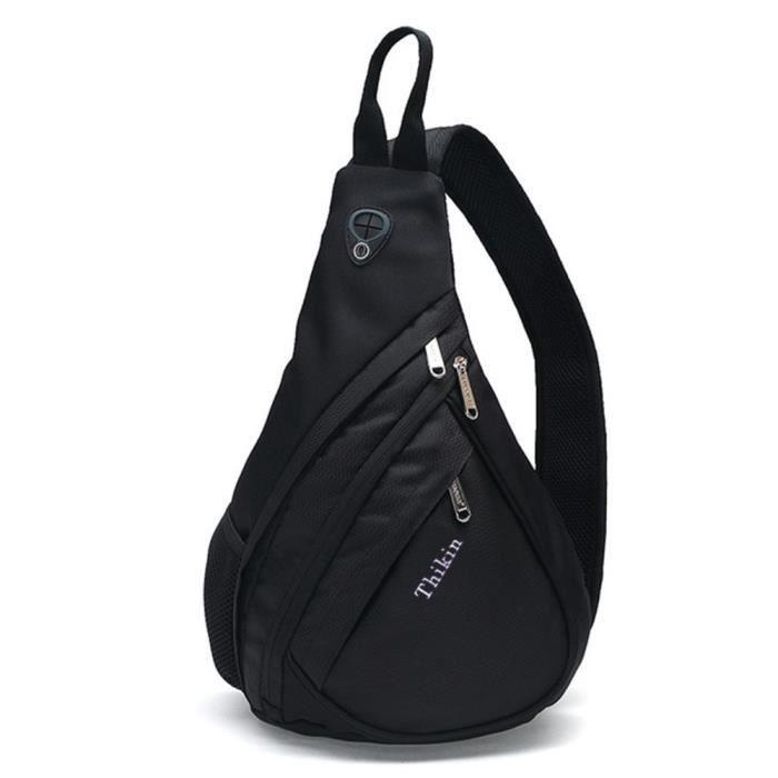 Sling Sac à bandoulière Sac à dos bandoulière Rucksack pour la randonnée Daypacks pour lhomme Femmes VXYYE