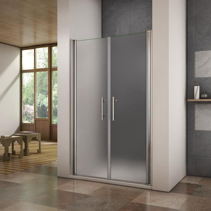porte de douche pivotante 95cm paroi de douche sabl e. Black Bedroom Furniture Sets. Home Design Ideas