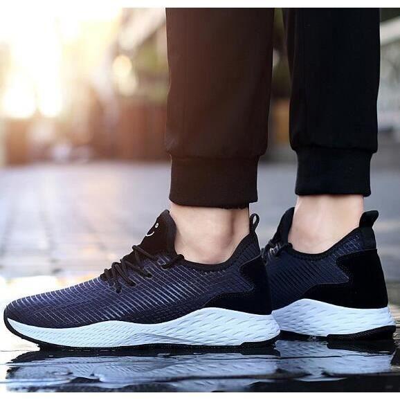 Hommes Chaussures Hommes Mode Chaussures Automne et Hiver Chaussures Sport respirant, Män Skor Män mode sneakers Hosten Och