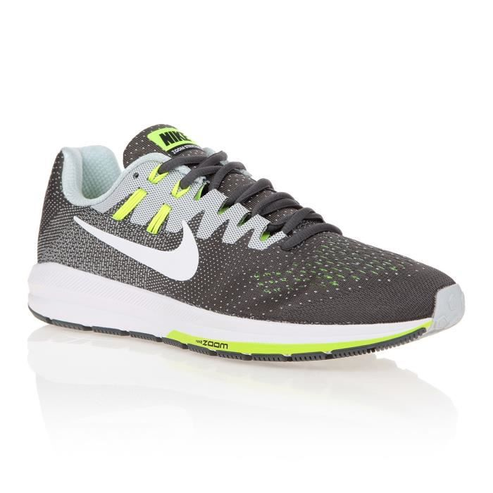 Baskets Homme Gris Nike Et Running Blanc De Structure HED92IYW