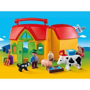 animaux ferme playmobil achat vente jeux et jouets pas chers. Black Bedroom Furniture Sets. Home Design Ideas