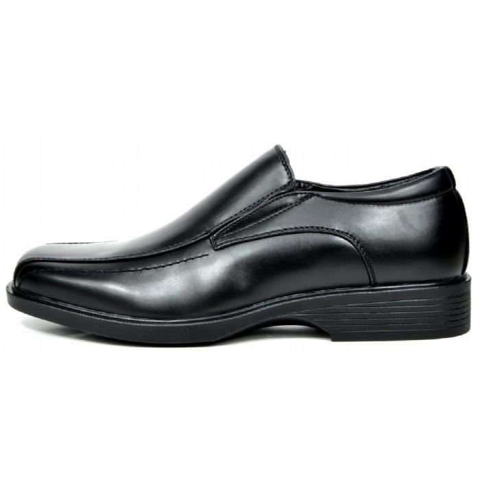 Bruno Marc cuir formel Chaussures Robe Mocassins doublé KYIPG Taille-47