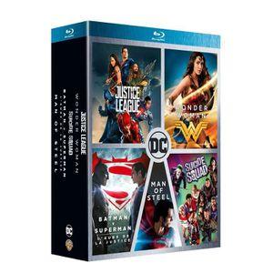 DVD SÉRIE Coffret 5 films DC Comics : Justice League, Wonder