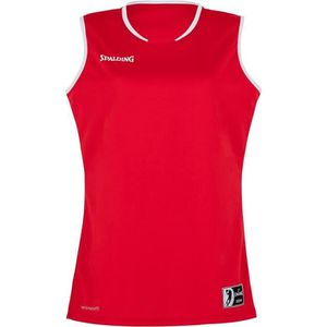 SPALDING Move Tank Maillot femme - Rouge/Blanc