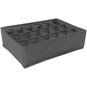 boite de rangement sous vetement achat vente boite de rangement sous vetement pas cher. Black Bedroom Furniture Sets. Home Design Ideas