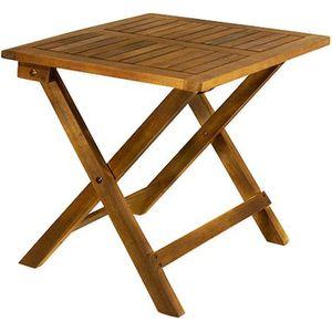 TABLE DE JARDIN  Table basse pliante en bois - Tables jardin d'appo
