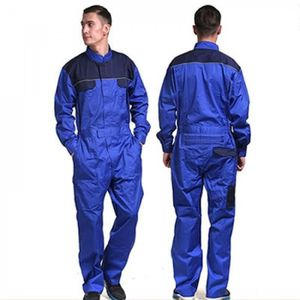 VÊTEMENTS MÉCANICIEN Version Blue - XS - Hommes De 100% Coton Combinais