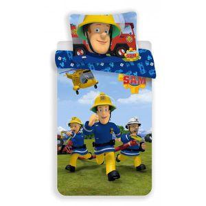 HOUSSE DE COUETTE ET TAIES Sam Le Pompier Team - Parure de lit Enfant -  Houss d43c48f22c65