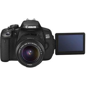 APPAREIL PHOTO COMPACT Canon EOS 650D - Appareil photo numérique - Refle…