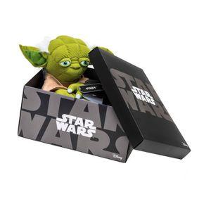 VIS - CACHE-VIS Joy Toy - Star Wars - Peluche Black Line Yoda 25 c