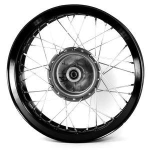 moto roue arri re frein tambour moyeu gris pour superbyke rmr125 achat vente. Black Bedroom Furniture Sets. Home Design Ideas