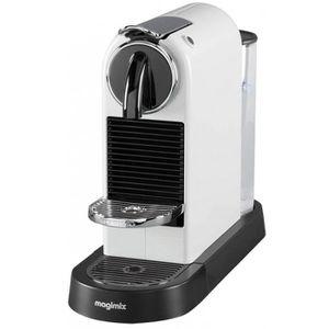 CAFETIÈRE Cafetière MAGIMIX - Nespresso M195 - Citiz - Blanc