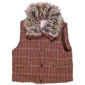 Doudoune enfant fille GAP 10 ans marron hiver - vêtement bébé  990947 2675b9d4542